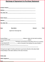 4 free purchase agreement template itinerary template sample