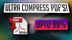 compress pdf below 2mb how to compress pdf files upto 90 youtube