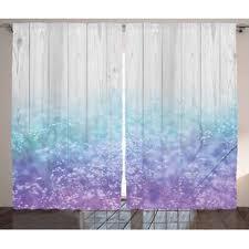 Pastel Coloured Curtains Purple Rustic Curtains Drapes You Ll Wayfair