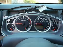 nissan frontier dash cover diy paint dash gauge trim nissan frontier forum