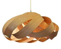 Wood Pendant Light Wood Pendant Light Etsy