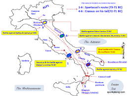Brindisi Italy Map by Smarty Sparty Final Part U2013 U0027spartacus Spring U0027 Passes Into