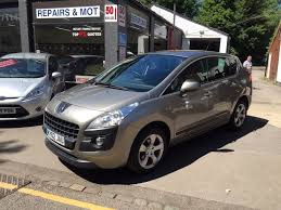 peugeot 4x4 models used peugeot 3008 suv 1 6 hdi active suv 5dr in rickmansworth