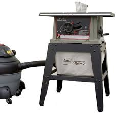 table saw vacuum dust collector a diaper for your table saw toolmonger