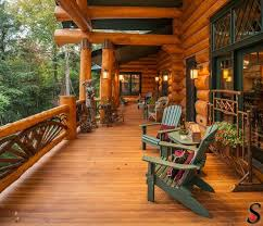Log Home Decorating 243 Best Log Homes Images On Pinterest Home Architecture And