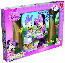 disney minnie mouse jigsaw puzzle 50 pieces amazon co uk toys