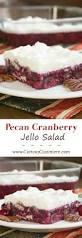 jello salad recipes for thanksgiving pecan cranberry jello salad u2022 curious cuisiniere