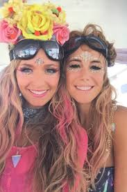 10 incredible beauty looks from burning man burning man rave