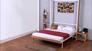 space saving double bed vertical double bed by prab space saving concepts youtube