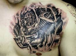 steampunk guage tattoo broken skin tattoo 27 incredible