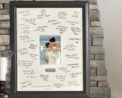 wedding wishes photo frame personalized wedding wishes signature frame my wedding favors