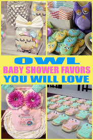 owl baby shower favors baby shower favors