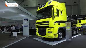 paccar trucks latest prime movers from daf trucks australia brisbane truck show