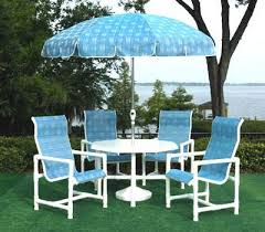 High Back Sling Patio Chairs by Outdoor Sling Highback Pvc Patio Furniture Outdoor Patio Pvc High