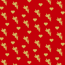 heart wrapping paper wrapping paper s day illustrations creative market