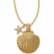 necklace pendant shell images Aqua shores aqua shores convertible shell necklace necklaces jpg