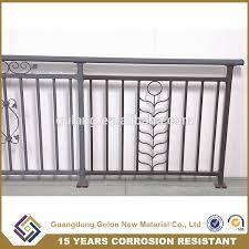 high quality balcony railing iron grill design for veranda buy