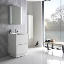 roper rhodes vista 600mm freestanding bathroom vanity white