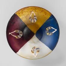 glass garland bowl work of heilbrunn timeline of
