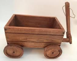 wooden wagon etsy