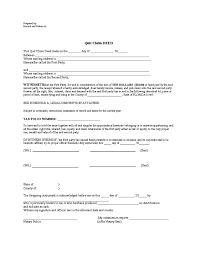 florida quit claim deed form template beautifuel me