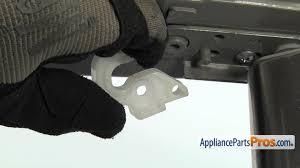 refrigerator door stopper part mjb63029902 how to replace