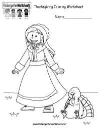 thanksgiving day worksheets for kindergarten thanksgiving