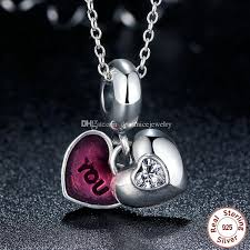 charm you bracelet images 2018 you me forever together heart silver dangle charms with jpg