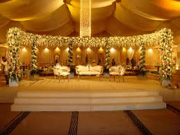 wedding stage decoration with lights pakistani functions such