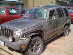 crashed jeep liberty automotive vision eliminating human error from the navigation