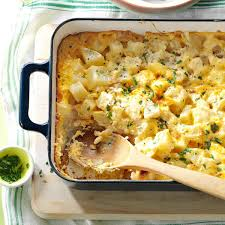 Easter Side Dishes Favorite Cheesy Potatoes Recipe Taste Of Home