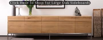 Oak Hutch And Buffet by Long Low Sideboard Large Oak Sideboards At 4 Living Dining