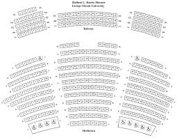 seating charts center for the arts great performances at mason