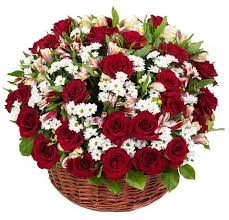 basket of flowers customizable basket of roses flower delivery philippines