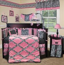 Fancy Crib Bedding Bedroom Fancy Baby Pink Zebra Bedroom Decoration Using Light