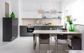 cuisine gris laque cuisine blanc laque et gris solutions pour la dã coration équipée