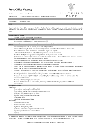 hotel front desk resume sample hotel resume example by sample for