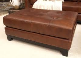 tufted leather chair and ottoman leather storage ottoman tags astonishing ottoman coffee table