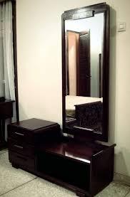 bedroom splendid wooden dressing table with mirror vanity set