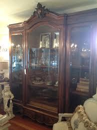Armoire With Glass Doors Sweet Magnolia Diaries Huge Glass Door Armoire