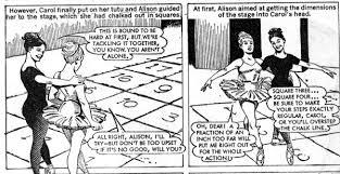 Carol Blind The Blind Ballerina Girls Comics Of Yesterday