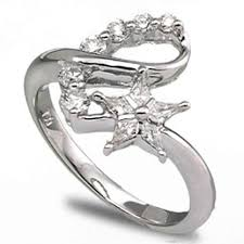 star wedding rings images Wedding band dilema for star engagement ring jpg