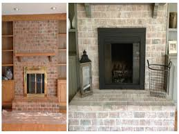 how to clean bricks inside fireplace whitewashing brick fireplace how to whitewash exterior brick