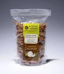 cranberry grain free granola primal island grain free paleo foods toasted coconut grain free granola