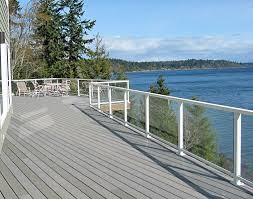 aluminum railing hansen architectural systems