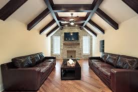 Family Room Design With Brown Leather Sofa Living Room Appealing Luxury Family Room Designs Large Family