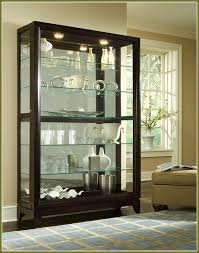 Modern Corner Curio Cabinet Elegant Espresso Corner Curio Cabinet 44 In Home Design Modern