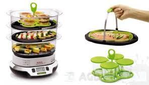 vita cuisine vitacuisine compact vs4003 kompaktowy parowar marki tefal agdmaniak