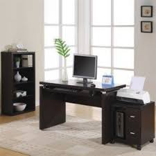 Computer Desk Bookcase Computer Desk Wheels Foter