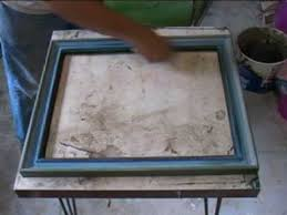 how to colour wash your own picture frames youtube